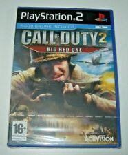 Call of Duty 2: Big Red One PS2 (PAL España precintado)