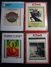 4 8-Track Cassette Lot - Billy Joel, The Wiz, Hair, Sgt Pepper soundtrack