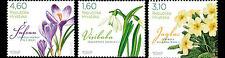 Spring Flowers set of 3 mnh stamps 2012 Croatia #827-9 crocus primrose snowdrop