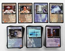 Babylon 5 CCG Wheel of Fire Complete Set of 152 Cards Total 4 Rare R1 48 R2 M/NM