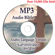 Arabic Bible-New Testament & Psalms-MP3 Audio CD-Audio book-Christian Scripture