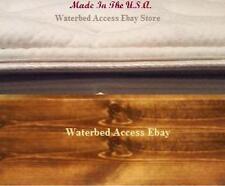 Bamboo Pillow Top Zipper Mattress Cover for California King Hardside Waterbeds