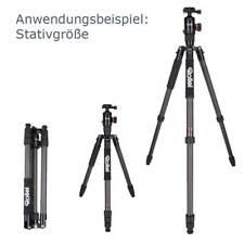 Rollei Fotostativ C6i | Carbon 171 cm, incl. Einbein + Kugelkopf