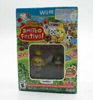 Animal Crossing Amiibo Festival NINTENDO WII U NEW FREE SHIPPING