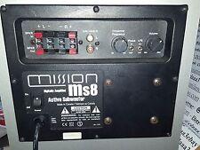 MISSION Ms8 SPEAKER ACTIVE SUBWOOFER ATTIVO CASSA
