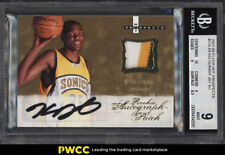 2007 Fleer Hot Prospects Kevin Durant ROOKIE RC AUTO PATCH /399 BGS 9 MT (PWCC)