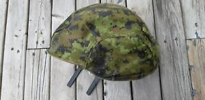 Canadian CG634 Helmet Cover in Woodland Cadpat