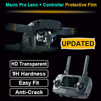 Transparent HD Tempered Glass Screen Protector for DJI Mavic Pro Controller