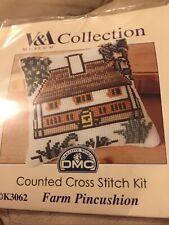 Farm Pincushion Cross Stitch Kit