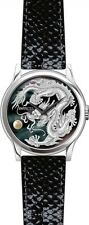 Invicta 46mm Dragon Master Automatic Mother-of-Pearl Leather Strap Watch