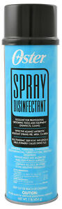 Oster Clipper Disinfectant Spray Barber Cleaning Aerosol Can 16 oz