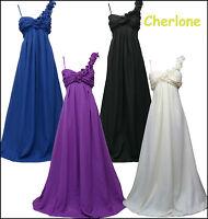 Cherlone Chiffon Lange Mutterschaft Hochzeit/Abend Ballkleid Brautjungfer Kleid