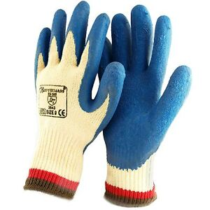 Bodyguards 6 Pairs Anti Cut Resistant Work Safety Gloves Grip Protection Level 5