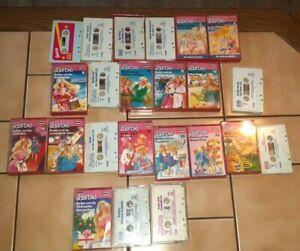 23 Barbie Kassetten  1-12 15-20 22,23-24 und s.Bild