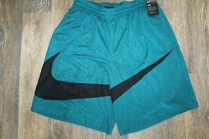 NWT Men's NIKE Big & Tall Swoosh Basketball Shorts Green Black XLT 4XL 2XLT