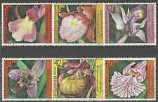 Timbres Flore Bulgarie 2987/92 o lot 13872
