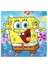 Tovaglioli Carta Spongebob Mare , Arredo Festa Compleanno PS 20299