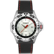Immersion Stream Men's Silver Dial Diving Watch