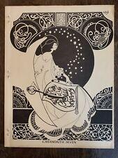 Rare 1972 Fantasy Fanzine Carandaith #7 George Barr Zine Greg Shaw Letter