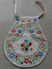 Vintage Embroidered European Bolivia? Apron