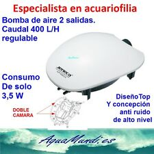 oxigenador aireador bomba de agua compresor acuario pecera gambario 400 L/H