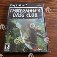 FISHERMANS BASS CLUB  (  Playstation 2 PS2 )  Tested and Working