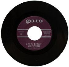 "KING COLEMAN  ""CRAZY FEELIN'""  KILLER MOODY R&B  LISTEN!"