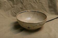 "Antique 18th C Soft Paste Cream Ware Bowl As Is For Repair Restoration 3x6.5"""