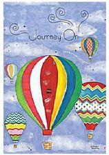 Lang Co. - Journey On mini garden flag - #086