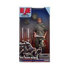 GI JOE VIETNAM NURSE 12 INCH CLASSIC COLLECTION NEW MIB 1999 HASBRO