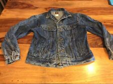 Lee Riders VTG 80s Stonewash Trucker Denim Jean Jacket USA Size 20 Women Large