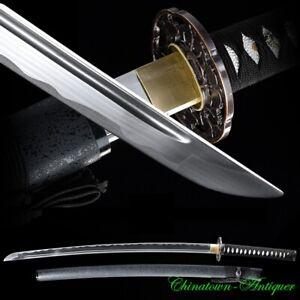 Aluminum Alloy Training Iaito Katana Practice Iaido Sword Unsharpened Edg #3046