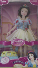 New Disney Princess Porcelain Ballerina Snow White And The 7 Dwarfs Doll