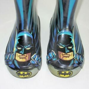Batman Rain Boots Boys 9 Toddler DC Comics Western Chief Rubber Shoes