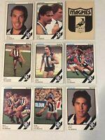 1984 COLLINGWOOD VFL / AFL Scanlens Cards...Team Set -1  w/ UNMARKED CHECK LIST!
