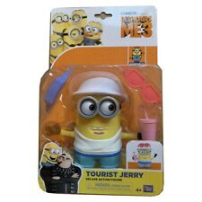 Minions Despicable Me 3 Toy Toys Figure Tourist Jerry Gift Collectible UK