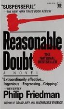 Reasonable Doubt by Philip Friedman (1990, Mass Market)