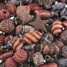100g Mixed Brunet Starfish Pattern Frog Acrylic Plastic Beads Jewellery Kit GW