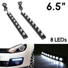 2x 8 LED Daytime Running Lights DRL For Seat Cordoba Leon Altea Arosa Exeo Ibiza
