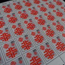 feuille sheet Bogen Deutschland berlin Nr.296 x50 1968 neuf luxe mnh