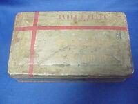 Vintage Firestone First Aid Kit Tin BAUER & BLACK Home Auto Gas Station