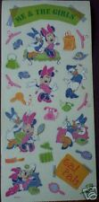 DISNEY MINNIE MOUSE DAISY TOON TOWN SCRAPBOOK STICKER!!