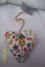 Gisela Graham Wildlife Garden Lavender Filled Heart