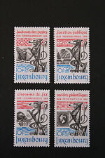 Timbres / Stamp LUXEMBOURG Yvert et Tellier n°1041 à 1044 N** (cyn10)