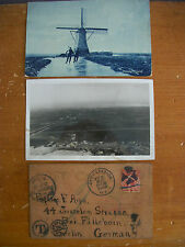 Lot of 3 Early 1900s Postcards, Prof GEORGE F ARPS' Travels