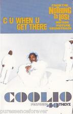 COOLIO ft 40 THEVZ - C U When U Get There (UK 2 Tk Cassette Single)