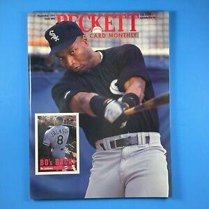 Beckett Baseball Card Monthly #80 November 1991 Bo Jackson