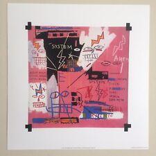 "JEAN MICHEL BASQUIAT ORIGINAL POP ART LITHOGRAPH FINE ART PRINT ""SIX FIFTY"" 1982"