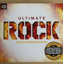 4CD NEW - ULTIMATE ROCK - Pop Music 4x CD Album - Priest Purple Boston Santana
