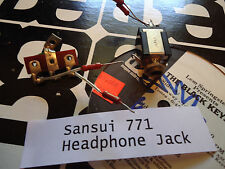 Sansui 771 Stereo Receiver Parting Out Headphone jack